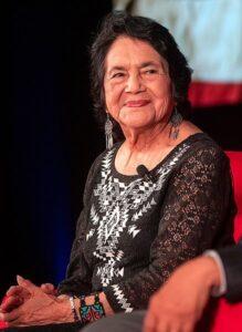 headshot of Dolores Huerta
